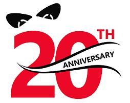 Raytech 20 Year Anniversary Logo