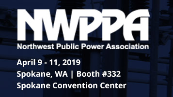 Raytech at NWPPA's Engineering & Operations Conference and Trade Show: April 9 – 11, 2019