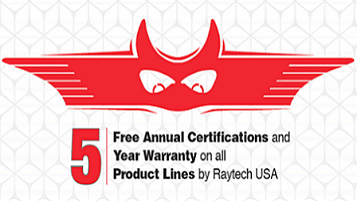 5 Product Lines from Raytech