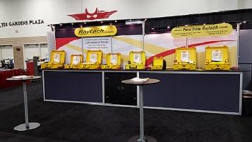 Raytech's PowerTest 2016 Booth
